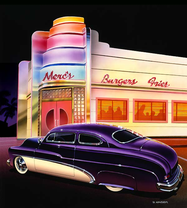 Limited Edition Automotive Art Prints Of Muscle Cars And